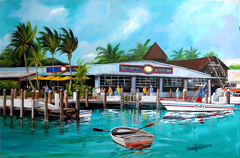 Conch Republic Bar Amp Restaurant The Art Of Ray Rolston