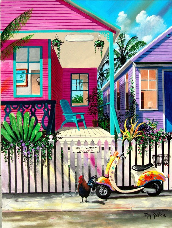 Key West Colors The Art Of Ray Rolston